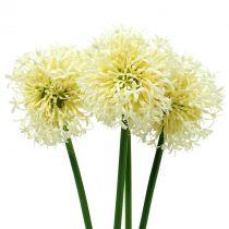Zierlauch Allium künstlich Weiß 51cm 4St