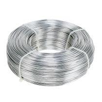 Aludraht 1,5mm 1kg Silber