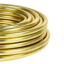 Aludraht 5mm 500g Gold