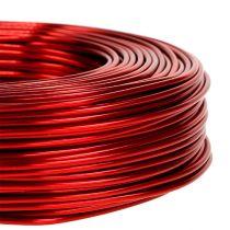 Aluminiumdraht Ø2mm 500g 60m Rot