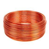 Aluminiumdraht Orange Ø2mm 500g 60m