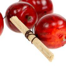 Apfelgirlande rot L 110cm