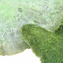 Baumschwamm Grün weiß gewaschen 1kg