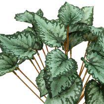 Künstlicher Begonienbusch Grün 30cm