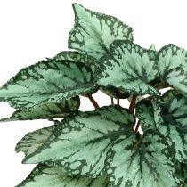Künstlicher Begonienbusch Grün 34cm