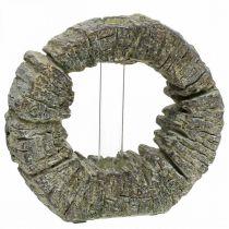 Betonvase mit Reagenzglas Ring Ø16cm
