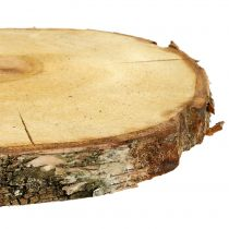 Birkenscheibe Natur Ø30cm - 35cm