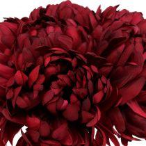 Chrysanthemenstrauß Bordeaux 28cm 6St