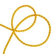 Deko-Kordel in Gelb 4mm 25m