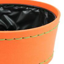 Deko Schale orange Ø20cm H9cm