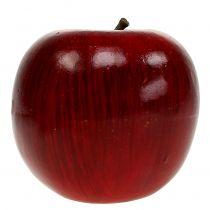 Dekoäpfel Rot, lackiert Ø8cm 6St
