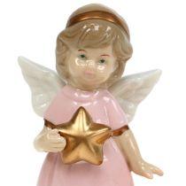 Dekofigur Engel mit Teelicht 10,5cm