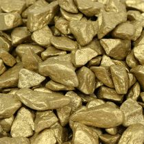 Dekosteine 9mm - 13mm 2kg Gelbgold
