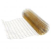 Drahtgeflecht Gold 35cm 5m