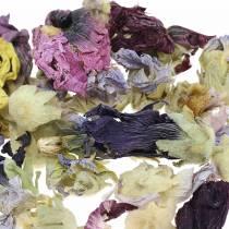Trockendeko-Bastelset Echter Eibisch Natur 300g Blüten-Potpourri