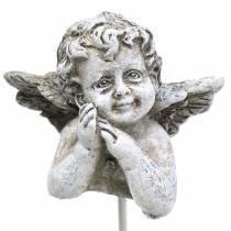Grabschmuck Dekostecker Engel 3,5cm 8St