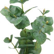 Eukalyptuszweig Künstliche Grünpflanze Eukalyptus Deko 75cm