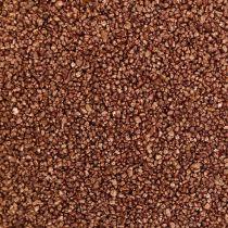 Farbsand Kupfer Dekosand Braun Ø0,5mm 2kg