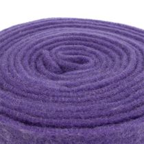 Filzband 15cm x 5m Violett