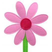 Filzblume Rosa 64cm