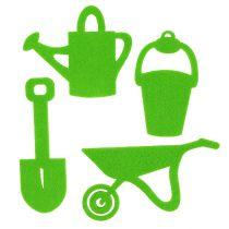 Gartengeräte Filz Grün 24St
