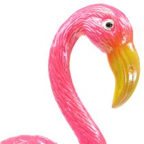 Gartenstecker Flamingo Rosa 15cm
