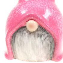 Gartenzwerg Wichtel Pink 20cm