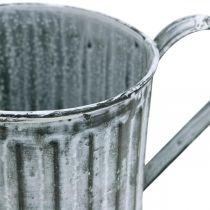 Deko-Kanne, Pflanzgefäß, Gießkanne zum Bepflanzen Ø10,5cm