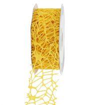Gitterband Gelb 40mm 10m