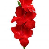 Gladiole Rot künstlich 86cm