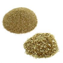 Glitter Mix in Dosierflasche Gold 90g