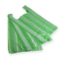 Hemdchenbeutel Grün 25cm x 12cm x 45cm 8my 100St