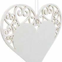 Herzdeko zum Hängen, Hochzeitsdeko, Herzanhänger aus Holz, Herzdeko, Valentinstag 12St