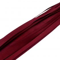 Holzstreifen Bordeaux 95cm - 100cm 50St