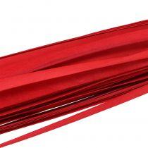 Holzstreifen Flechtband Rot 95cm - 100cm 50St