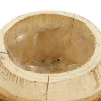Holztopf zum Bepflanzen Natur Ø14cm