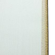 Kranzband Moiré 200mm, Weiß