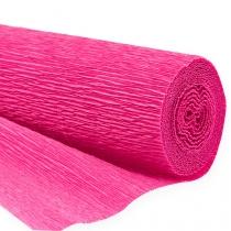 Floristen-Krepppapier Pink 50x250cm