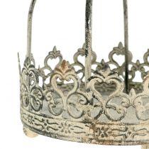 Krone zum Hängen Antik-Crème Ø10,5cm