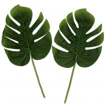 Künstliches Philodendron Blatt 18cm Grün 6St