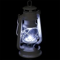 LED-Laterne dimmbar Warmweiß 24,5cm mit 15 Lampen