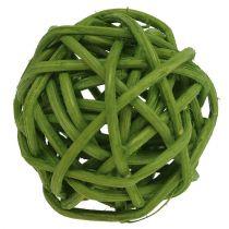 Lataball 3cm Grün gebleicht 72St