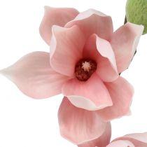 Magnolie künstlich Hellrosa 90cm