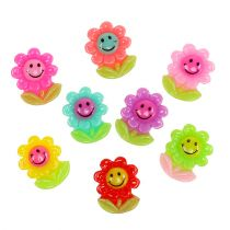 Mini Blumen zum Kleben 2cm 24St