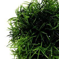 Mini Graskugel Ø12cm Dunkelgrün 1St