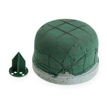 Steckschaum für Urnengesteck mit Steckhalter groß Ø10,5cm 3St