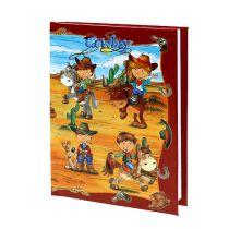 Notizbuch für Jungs Cowboy A6 1St