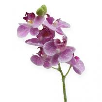 Orchidee mit Glitter, Rosa 35cm