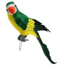 Deko Papagei Grün 44cm