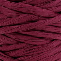 Papierkordel 6mm 23m Bordeaux
